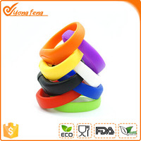 Silicone Bracelet Wrist Band USB 2.0 USB silicone flash band drive memory for gift