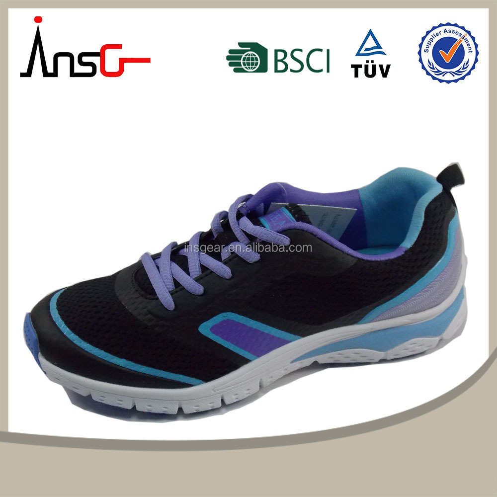 insgear china 2015 made in china colorful multi element new design cheap women shoe