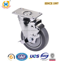 75 Mm TPE Side Mount Caster