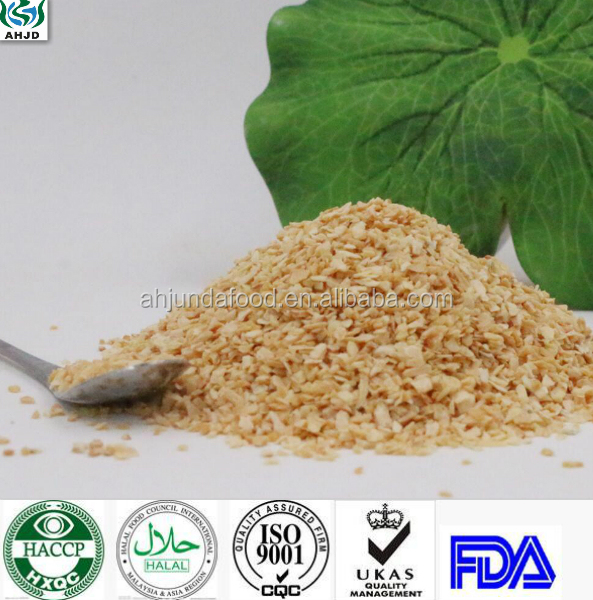 Low Price Instant Vegetables Freeze Dried Garlic Granules