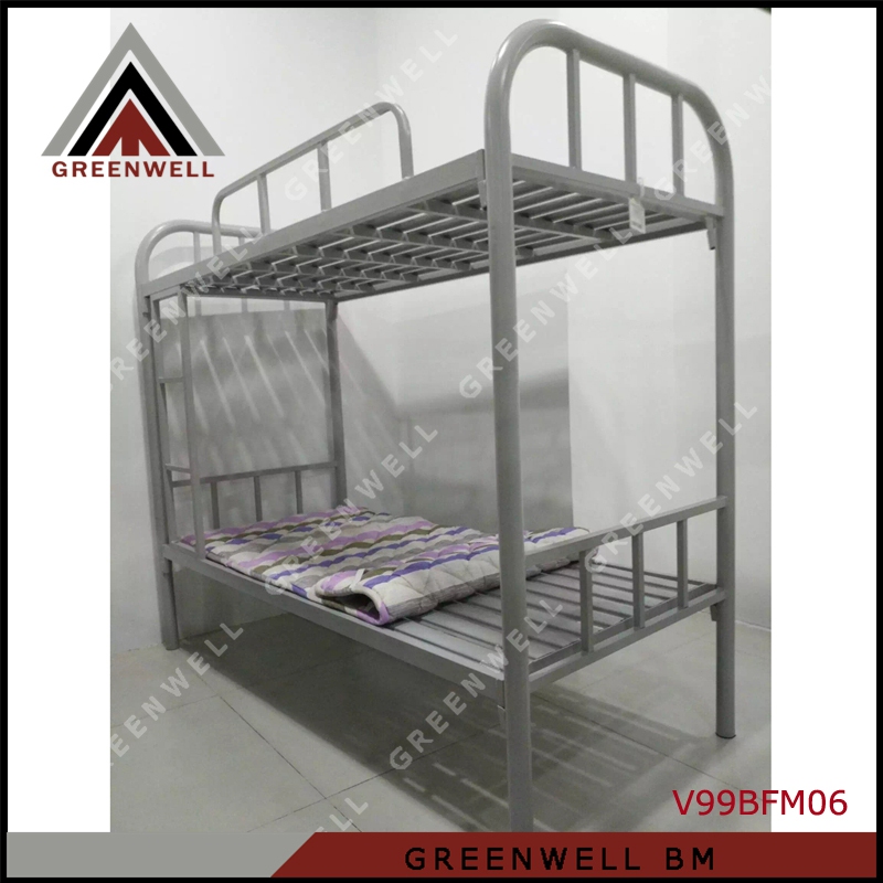 V99BFM06 Powder Coated Twin Size Double Decker Metal Bed Frame