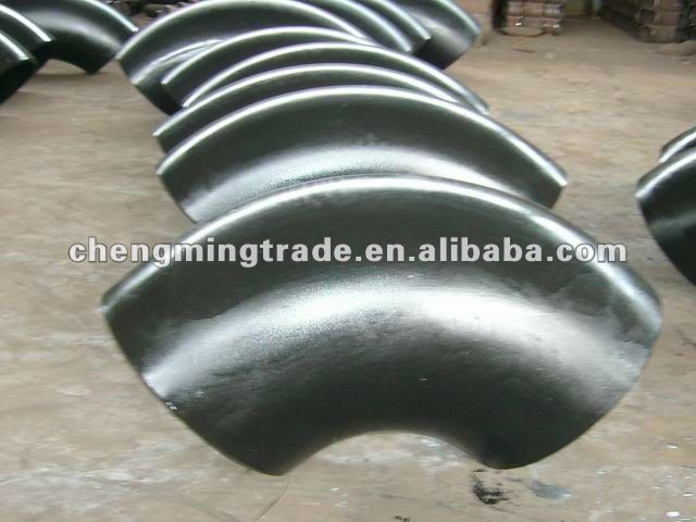 ASME/ANSI B16.8,45,90,180deg elbow short radius carbon steel elbow,butt welding pipe fittings.SCH10,STD,XS,SCH20,SCH30