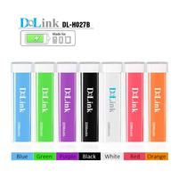 Portable external battery charger custom logo lipstick tube power bank