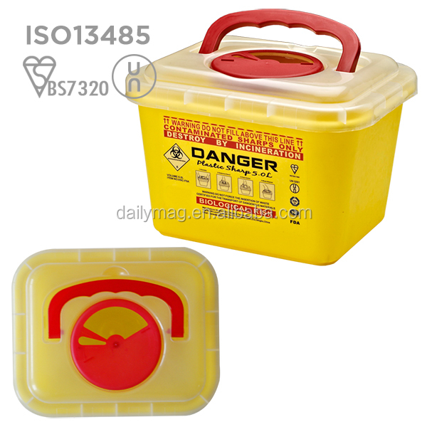 sharp disposal. fda approved disposable medical sharp box bin sharps container - buy disposal