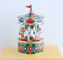 Fashion jewelry musical box merry-go-round gift