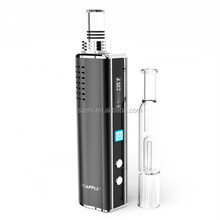 Newest variable taste,Water filter function vape through glass globe dry herb attachment