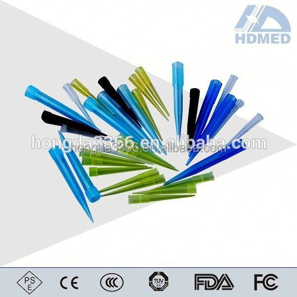 0.1ml plastic disposable micropipette with thick tip, weikang PE
