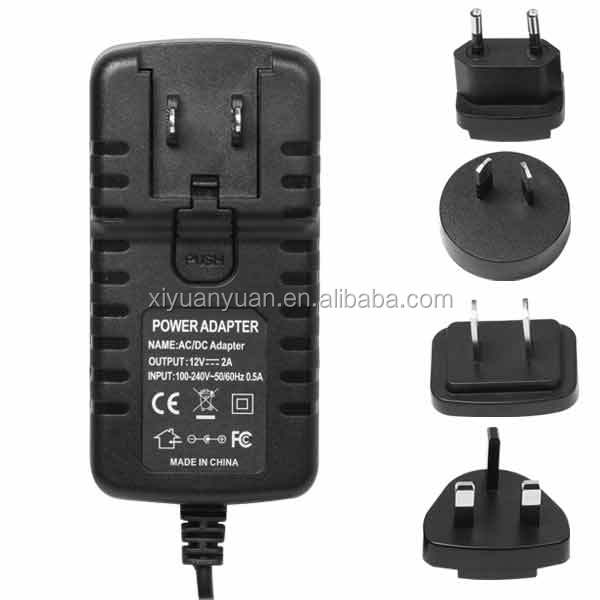 Shenzhen power ac adapter 24v 500mA Lead acid universal portable battery charger