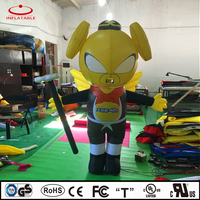 inflatable walking man, inflatable cartoon pig, promotional inflatable product