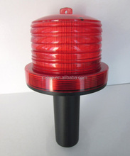 Solar Power Beacon Light