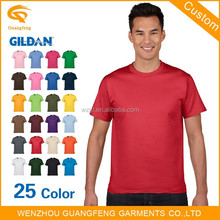 Gildan 100% Cotton Cheap High Quality Mens Blank T Shirts