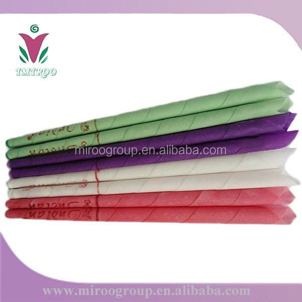 indian decorative candles ear candle/ ear candles wholesale / ear candle for sale wax for candles