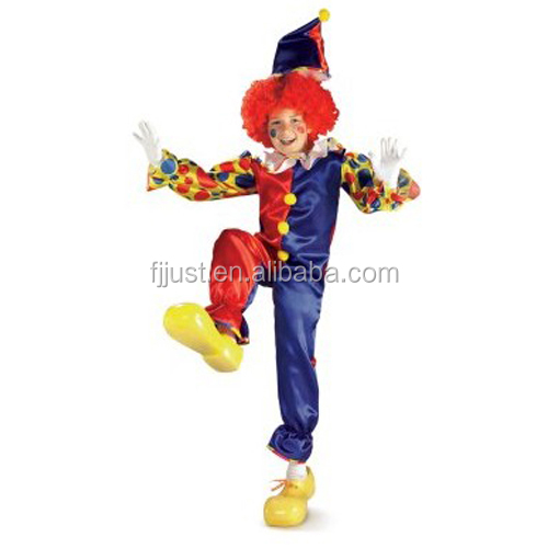 led light up christmas character clown costume