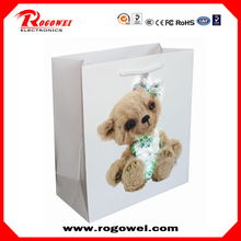 Christmas lights paper bag for packing with CE certificate