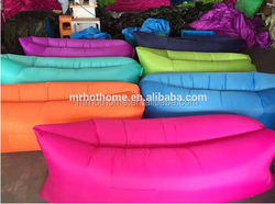 Inflatable air sofa bed customized printing Inflatable lazy bed