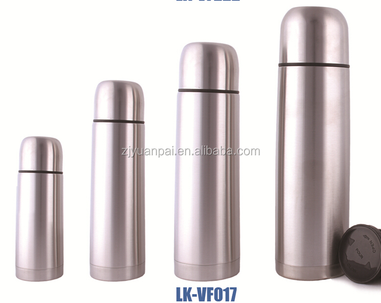 New fashion wholesale thermos vacuum water bottle flask /thermos stainless steel