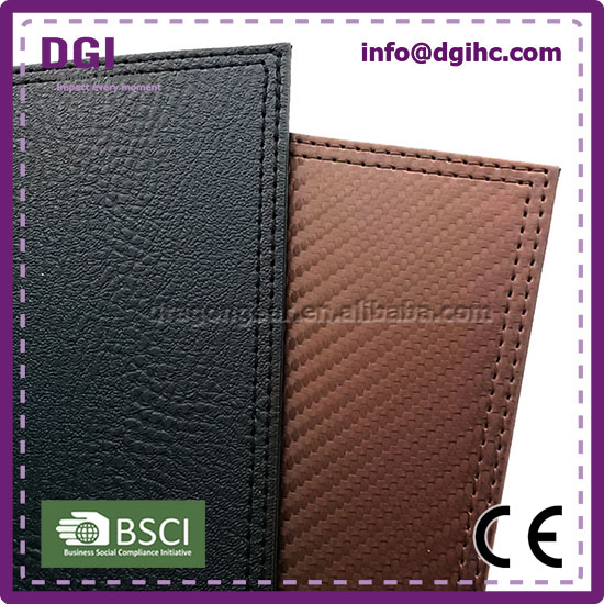 custom leather checkbook covers types of sofa material fabric OEM wholesale price high quality