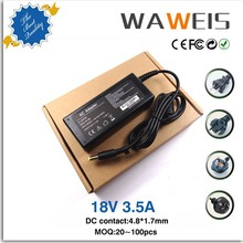 AC DC 18.5V 3.5A Laptop Adapter for Compaq 65W Power Supply for HP