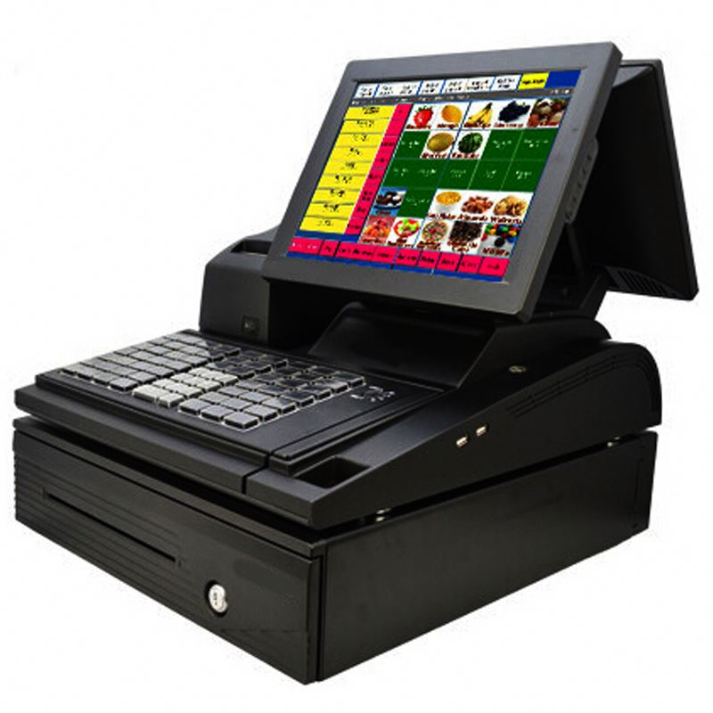 "Pos System 12"" 15"" 17"" ALL in one Touch Capacitive Touch Screen POS J1800 Fanless"