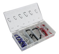 Shaped Carabiner Assortment Kit of TC BV Certification 25pc Shaped Carabiner