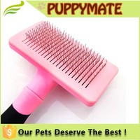 Stainless Steel Pins Dog Grooming Comb Brush pet products factory Supplies