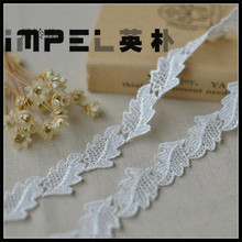 2 CM leaf design embroidery diy garment accessories Water soluble lace