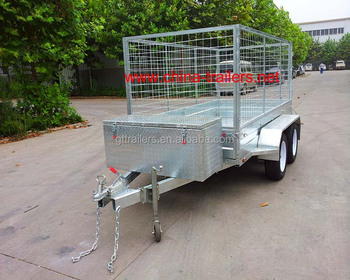 Double Axle Box Trailer TR0307B