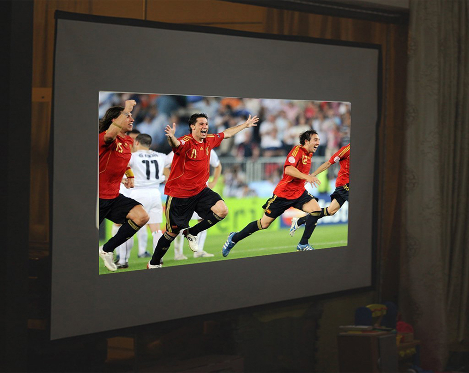 100 Inch Simple Projector Screen-7