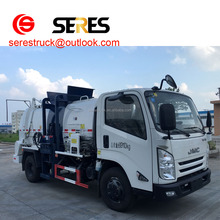 dongfeng sinotruck 4x2 kitchen Waste collection truck food collection garbage truck waste food rubbish truck