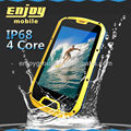 Smartphone 4.3' Quad Core 3G wifi GPS IP68 Rugged Android Smartphone with dual sim waterproof phone S09