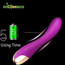 Women Using Mini Body Wand Massager Vibrators