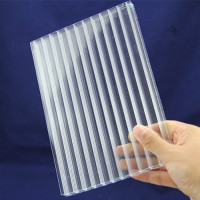 Sale Corrugated Polycarbonate Roof Sheet PC Sheet for Roofing Top and Greenhouse and Buildings