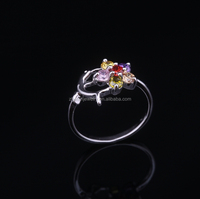 2015 cubic zircon jewelry,wholesale beautiful master slave ring