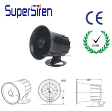 high quality competitive factory competitive price electric siren 12v car horn sounds