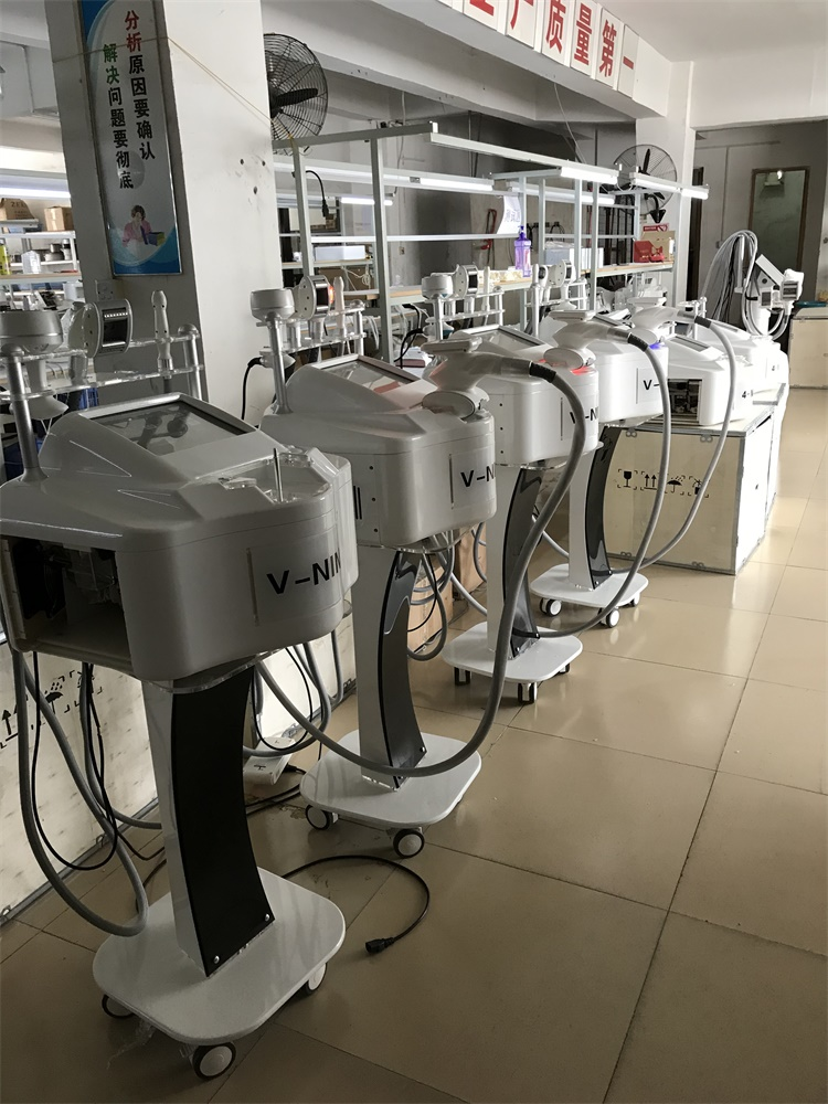 Desktop Velashape V9 vacuum rf slimming machine/ massage beauty machine fat removal equipment V9III