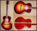 Fully handmade solid wood falttop acoustic guitar