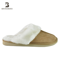 Hot sale Amazon women indoor bedroom warm soft european winter fur slippers