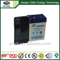 Wholesale!Emergency lighting 6V4.5AH batteries