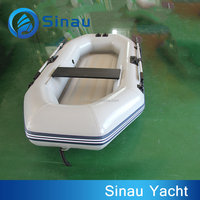 2.2M small cheap inflatable fishing boat rubber inflatable boat for sale