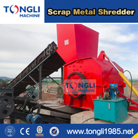 3 Ton Per Hour Capacity Scrap Metal Shredder In China