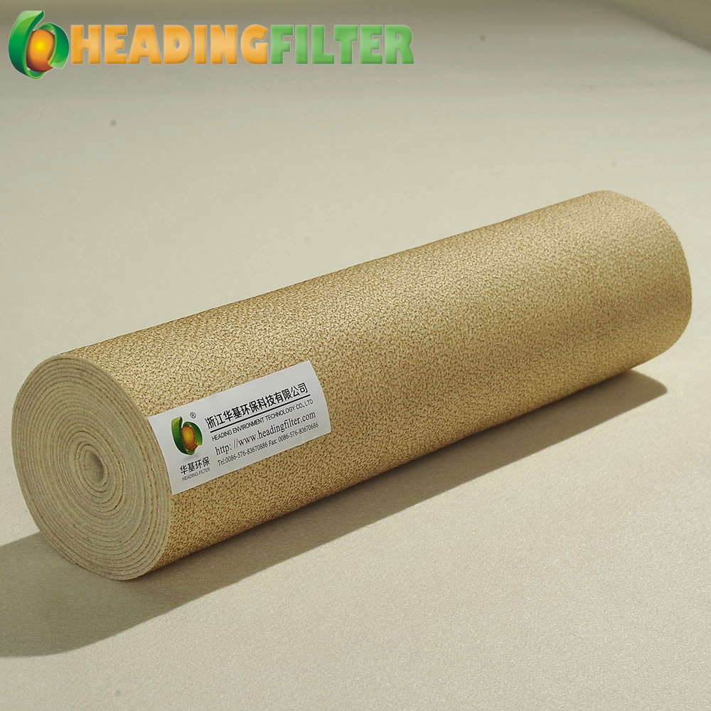 Nomex non woven needle punched felt filter cloth
