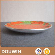 Good quality ceramic round flat pie plate for wholesale