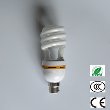 zhongshan lighting factory house bulb half spiral energy saving lamp 9w