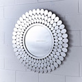 Top quality A Grade oval wall mirror
