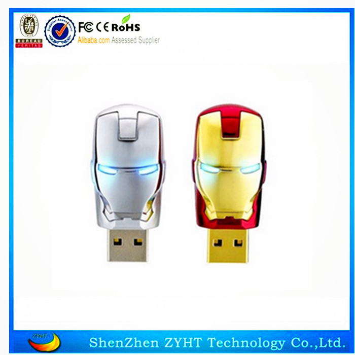 Hot sale special usb key cartoon character usb flash drive