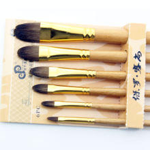 Hot sale artist drawing pen brush paint brush set for professional artist