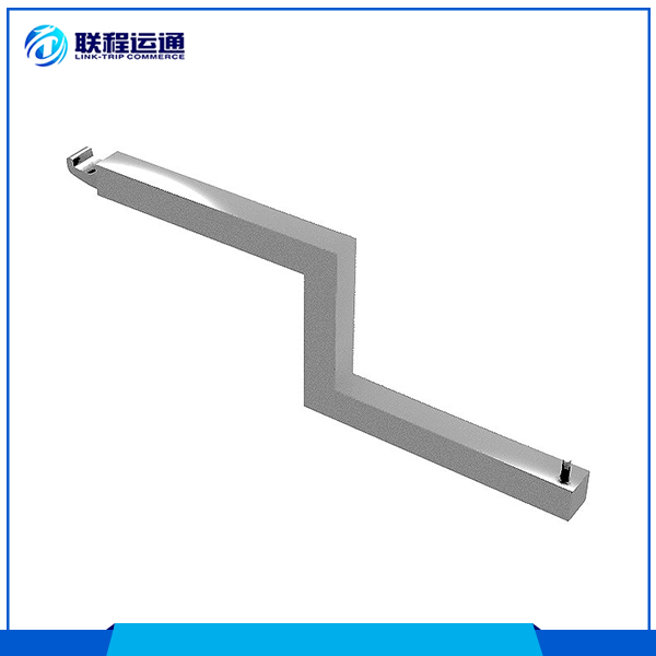 Stepped display arm stainless steel clothing hanger