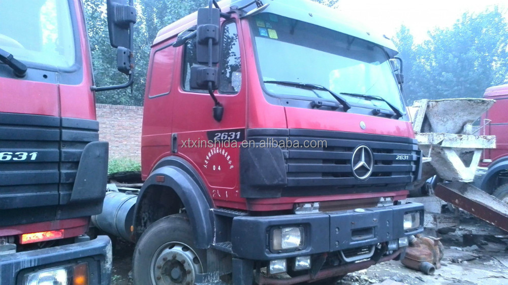 Used mercedes benz 2631 trucks made in Germany