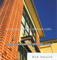 Red-- Smooth Clay Brick
