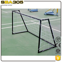 portable folding soccer football goal with net